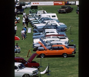 Holden's on display at Elizabeth Oval.