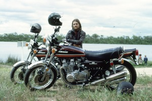 Author and his 1973 Z1A.