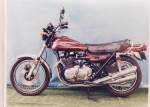 Z1 final prototype (curtesy Kawasaki Australia)