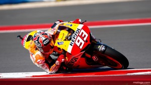 Marc Marquez in action. A future multi MotoGp WorldChampion ?