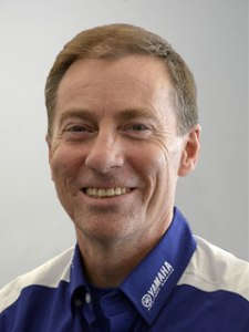 Yamaha Factory Racing Managing Director Lin Jarvis.