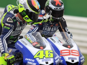 Rossi and Lorenzo were glad to have the seamless gearbox at Misano