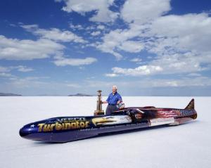 Don and Team Vesco break the wheel-driven Land Speed Record 2001.