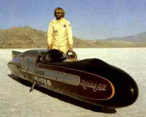 Don with the Kawasaki Lightning Bolt. His record stood for 12 years.