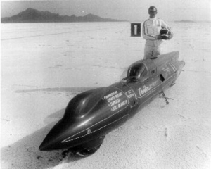 Vesco and Big Red the first motorcycle to achieve over 250mph.