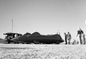 Doanld Campbell's Bluebird CN7. British pride and prestige was at stake.