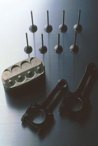 The revolutionary oval piston technology.