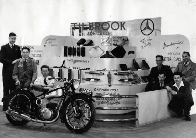 Rex Tilbrook 's stand at the 1947 Royal Adelaide Exhibition.