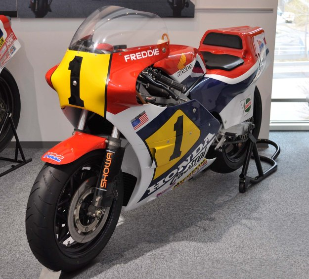 The Honda NS500 V3.